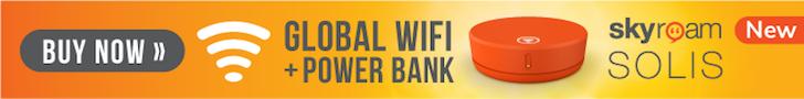 Global Wifi Power Bank + Camera
