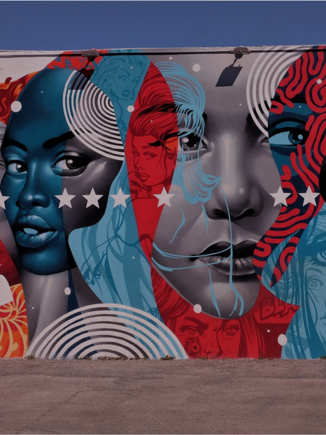 Photo of outdoor mural in Miami